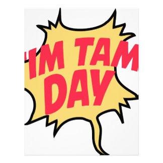 16th February - Tim Tam Day - Appreciation Day Letterhead