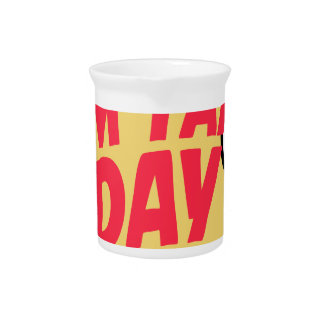 16th February - Tim Tam Day - Appreciation Day Pitcher