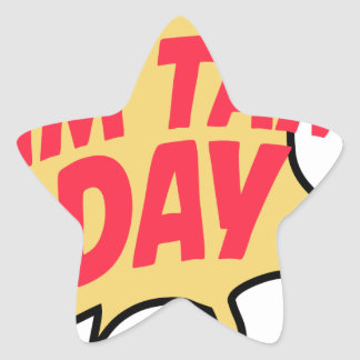16th February - Tim Tam Day - Appreciation Day Star Sticker