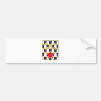 16th Infantry Regiment Insignia Bumper Sticker