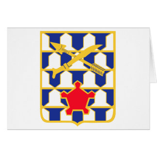 16th Infantry Regiment Insignia Card