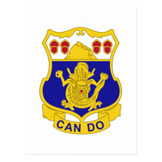 16th Infantry Regiment Insignia Postcard
