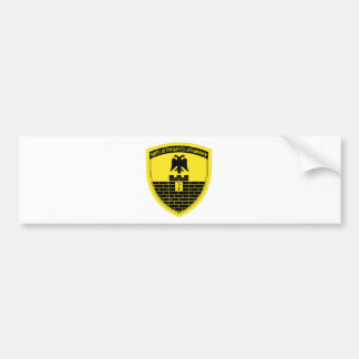 16th Mechanized Infantry Division Bumper Sticker