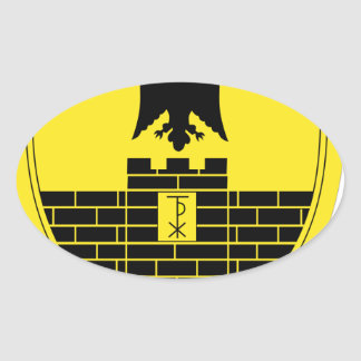 16th Mechanized Infantry Division Oval Sticker