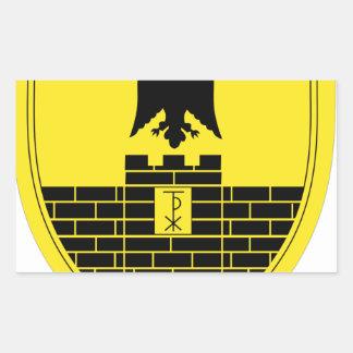 16th Mechanized Infantry Division Rectangular Sticker