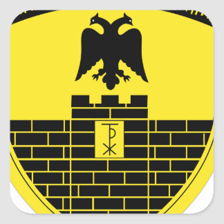 16th Mechanized Infantry Division Square Sticker