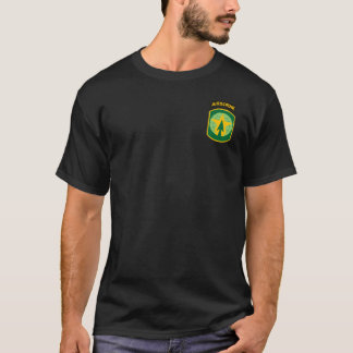 16th MP Brigade Airborne Patch T-Shirt
