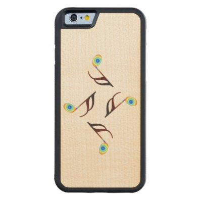 16th Music Notes Carved® Maple iPhone 6 Bumper Case