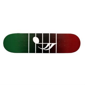 16th note 2 skateboard