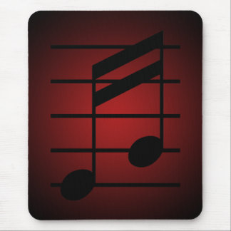 16th note 3 mouse pad