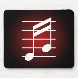 16th note 4 mouse pad