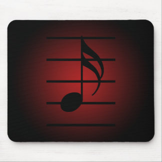 16th note mouse pad