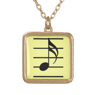 16th note necklace