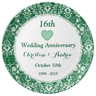 16th Wedding Anniversary Gifts | Zazzle