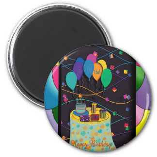 16thsurprisepartyyinvitationballoons copy 2 inch round magnet