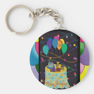 16thsurprisepartyyinvitationballoons copy key chains