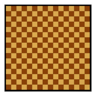 "16x16 Checkers TAG Board (1-1/4"" fridge magnets) Posters"