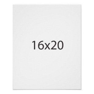 16x20 posters photo prints zazzle