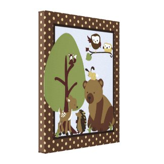 16x20 Canvas Art Nursery Print Enchanted Hollow Canvas Print