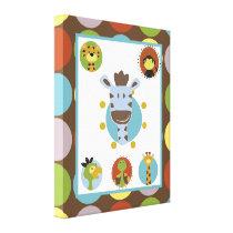 16x20 Canvas Art Nursery Print Jungle Tales Safari