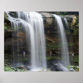 16x20 Canvas print of Dry Falls in North Carolina