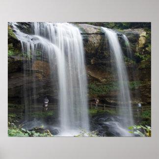 16x20 Dry Falls Waterfall in North Carolina Poster