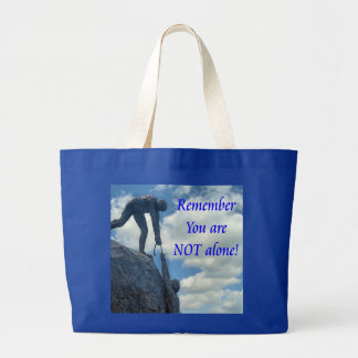 16x20 Hang In There Large Tote Bag