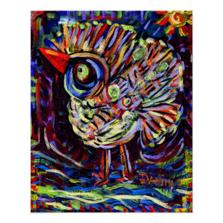 16x20 inch Hand Turkey poster! Poster