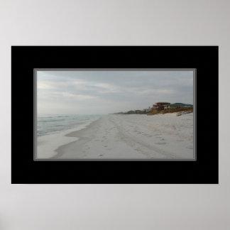 16x24 Print Of Houses on Florida Beach