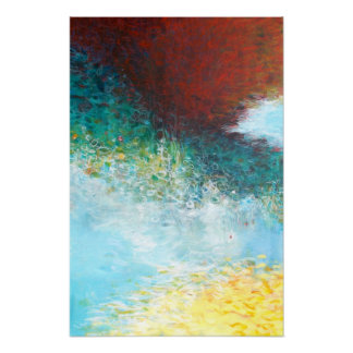 16x24 Triptych Part 1 Abstract Painting Art Print