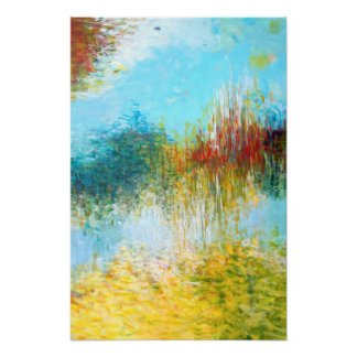 16x24 Triptych Part 2 Abstract Painting Art Print