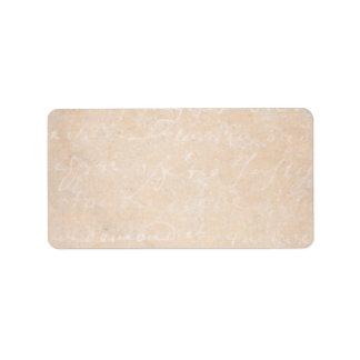 1700s Vintage French Script Parchment Background Label