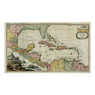 1705 Gulf of Mexico Poster