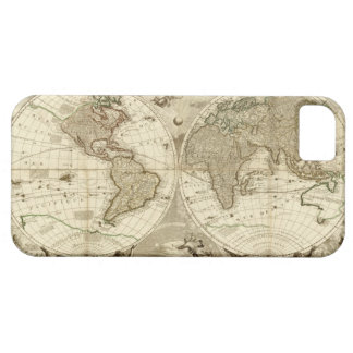 1708 World Map by Jean Baptiste Nolin iPhone 5 Case