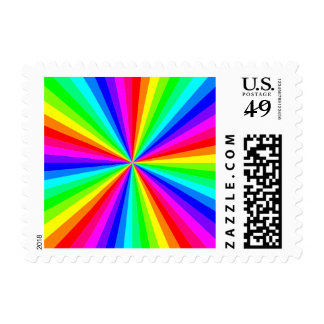 1709-12-color-60gon-vector RAINBOW SWIRLS COLOR GR Postage