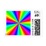 1709-12-color-60gon-vector RAINBOW SWIRLS COLOR GR Postage Stamps