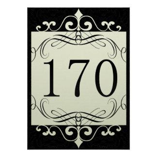 170 Area Code Posters