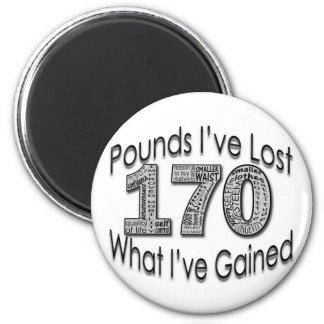170 libras de imán perdido