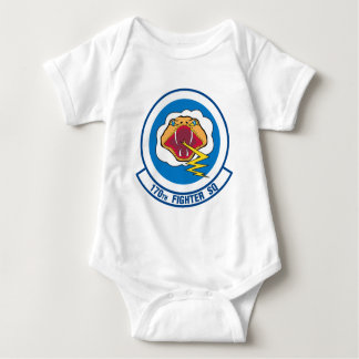 170th Fighter Squadron Baby Bodysuit