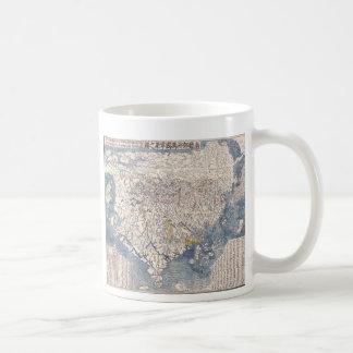 1710 Japanese Map of Buddhist World Coffee Mug