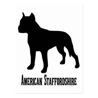 1715112006 American Staffordshire Terrier (Animale Postcard