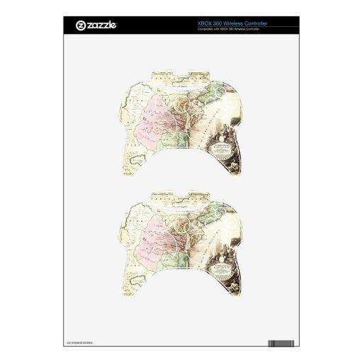 1715_Homann_Map_of_Carolina, _Virginia, _Maryland_ Mando Xbox 360 Calcomanía
