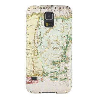 1716 Homann Map of New England Nova Anglia Geo Galaxy S5 Covers