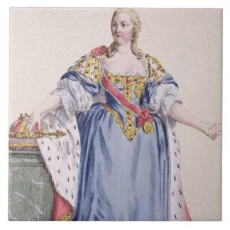 1717-80) emperatrices de Maria Teresa (de Austria, Azulejo Cuadrado Grande