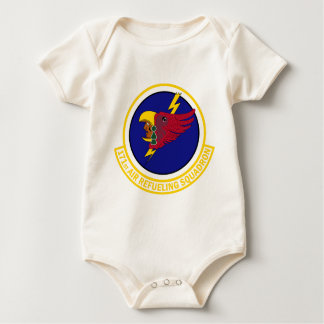 171st Air Refueling Squadron Baby Bodysuit