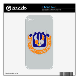171st Aviation Regiment - Support From Above Skins For iPhone 4