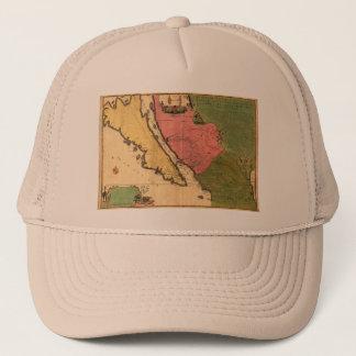 1720 Map - La Californie ou Nouvelle Caroline Trucker Hat