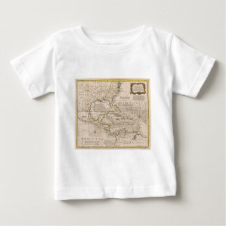 1720 Map of the West Indies by Emanuel Bowen Baby T-Shirt