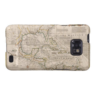 1720 Map of the West Indies by Emanuel Bowen Samsung Galaxy S2 Case