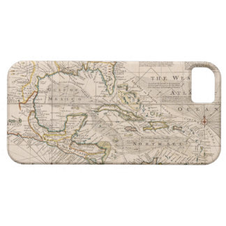 1720 Map of the West Indies by Emanuel Bowen iPhone 5 Case